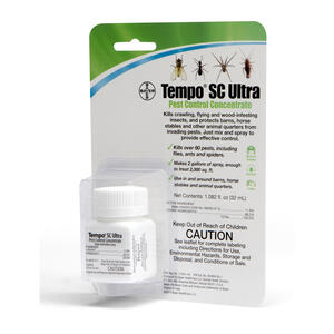 Tempo  Liquid  SC Ultra Pest Control Concentrate  For Horse 32 ml