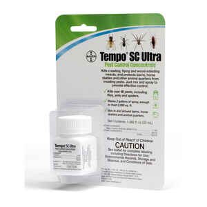 Tempo  Liquid  SC Ultra Pest Control Concentrate  For Horse 32 mil