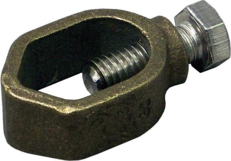 Sigma Electric ProConnex  1/2 in. Bronze  Universal Ground Rod Clamp  1 pk