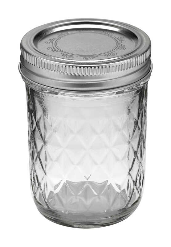 Ball  Regular Mouth  Canning Jar  8 oz. 12 pk