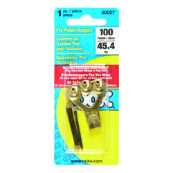 OOK  Professional  Picture Hanger  100 lb. 1 pk