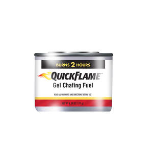 Sterno  Quick Flame  Silver  Chafing Fuel  2.24 in. H x 3.36 in. W x 3.36 in. L 1 pk