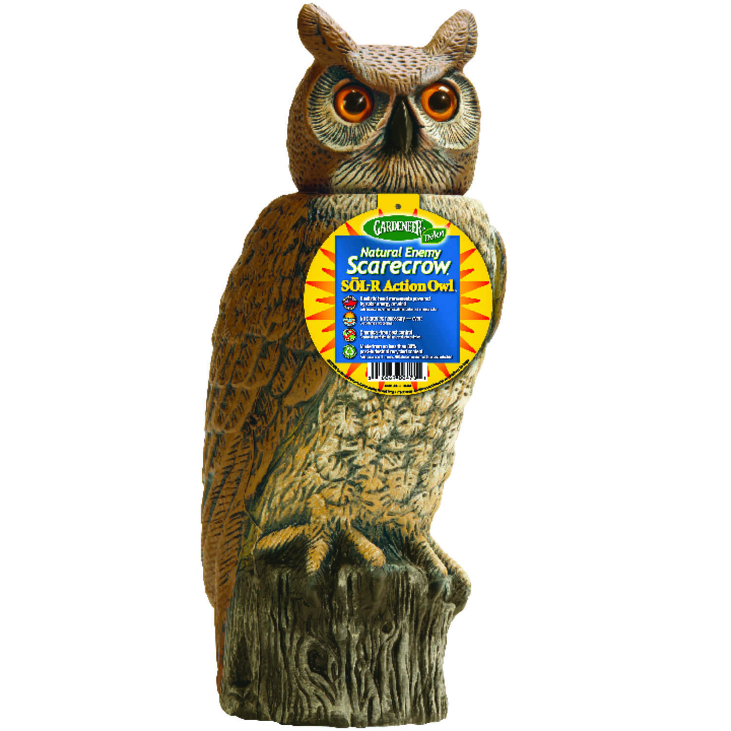 Dalen  Sol-R Action  Owl  Animal Repellent Decoy  For All Pests