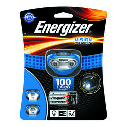 Energizer  100 lumens Blue  LED  Headlight  AAA Battery