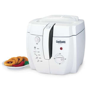 Cool Daddy  White  2  Deep Fryer