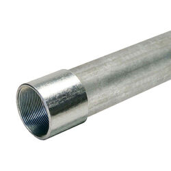 Allied Tube & Conduit  3 in. Dia. x 10 ft. L Galvanized Steel  Electrical Conduit  For IMC