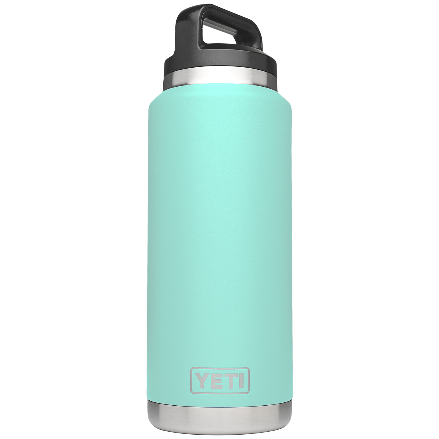 YETI  Rambler  Stainless Steel  Insulated Bottle  BPA Free 36 oz. Seafoam Green