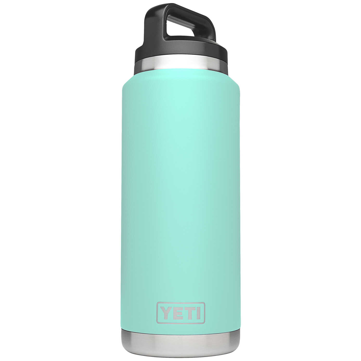 YETI  Rambler  Seafoam Green  Stainless Steel  Insulated Bottle  BPA Free 36 oz.