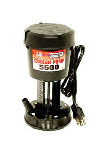 Dial  Black  Evaporative Cooler Pump  Plastic