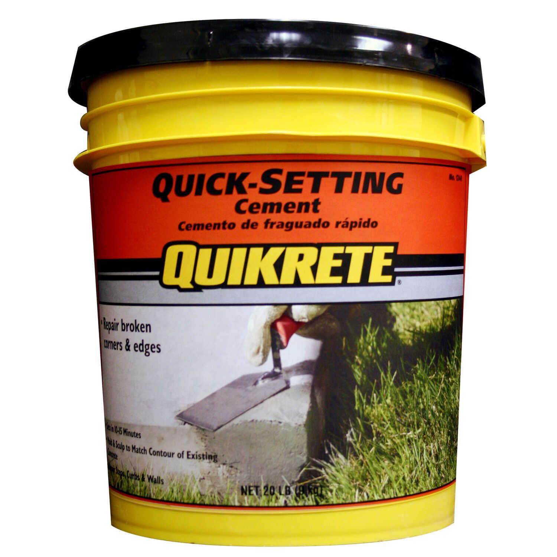 Quikrete Fast Setting Concrete Mix 20 Lb Ace Hardware