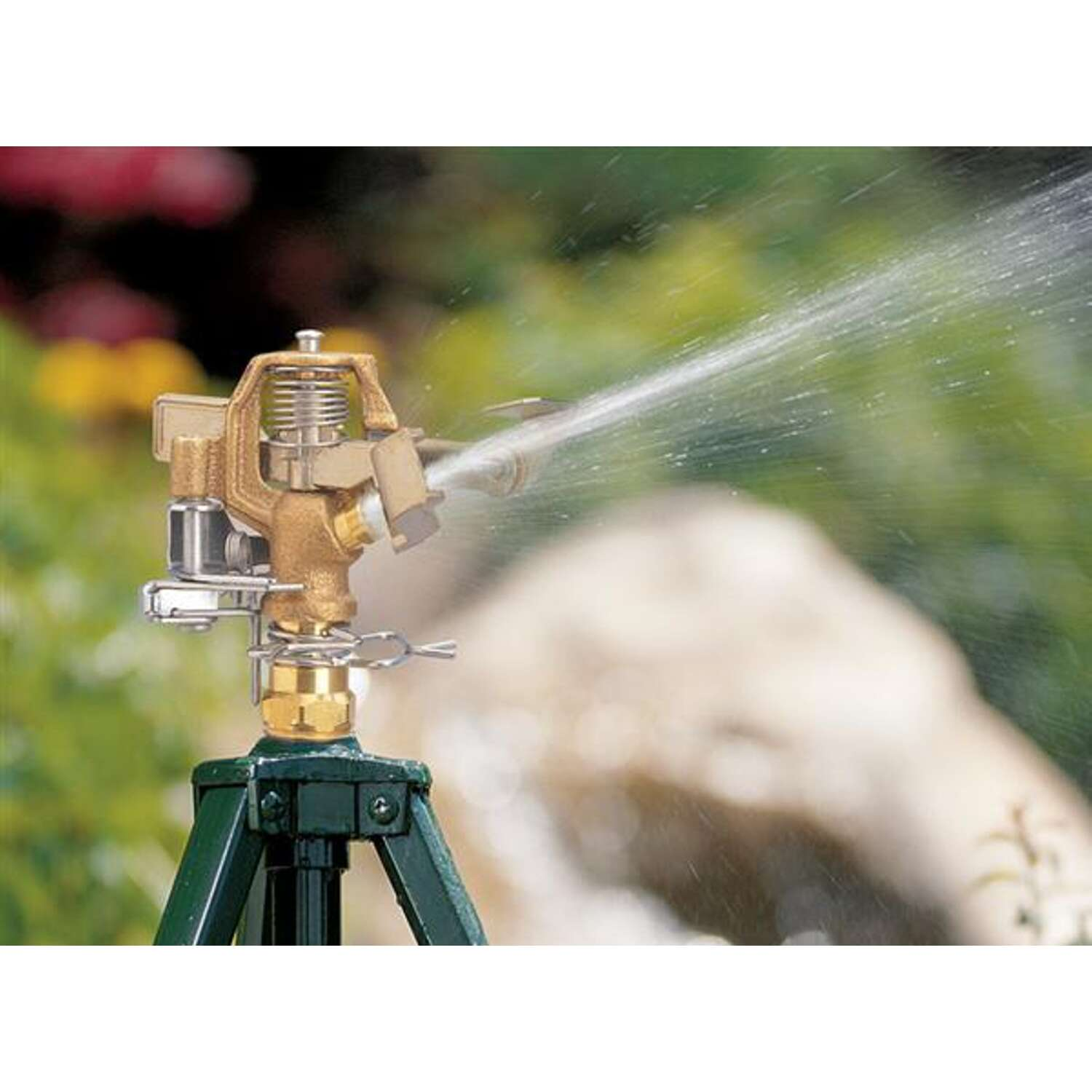 Orbit  Brass  Impact Sprinkler  2513 sq. ft.