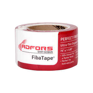 Saint-Gobain ADFORS  Fibatape  75 ft. L x 2 in. W Fiberglass Mesh  Self Adhesive Drywall Tape  White