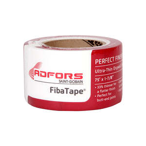 FibaTape  Perfect Finish  75 ft. L x 2 in. W Fiberglass Mesh  Self Adhesive Drywall Tape  White