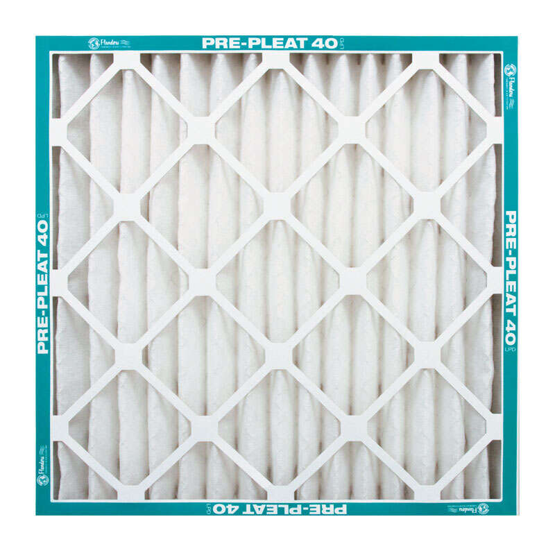 Flanders PREpleat 20 in. W x 20 in. H x 4 in. D Synthetic 8 MERV Pleated Air Filter
