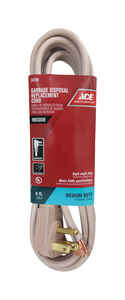 Ace  14/3 SPT-3  125 volt 6 ft. L Appliance Cord