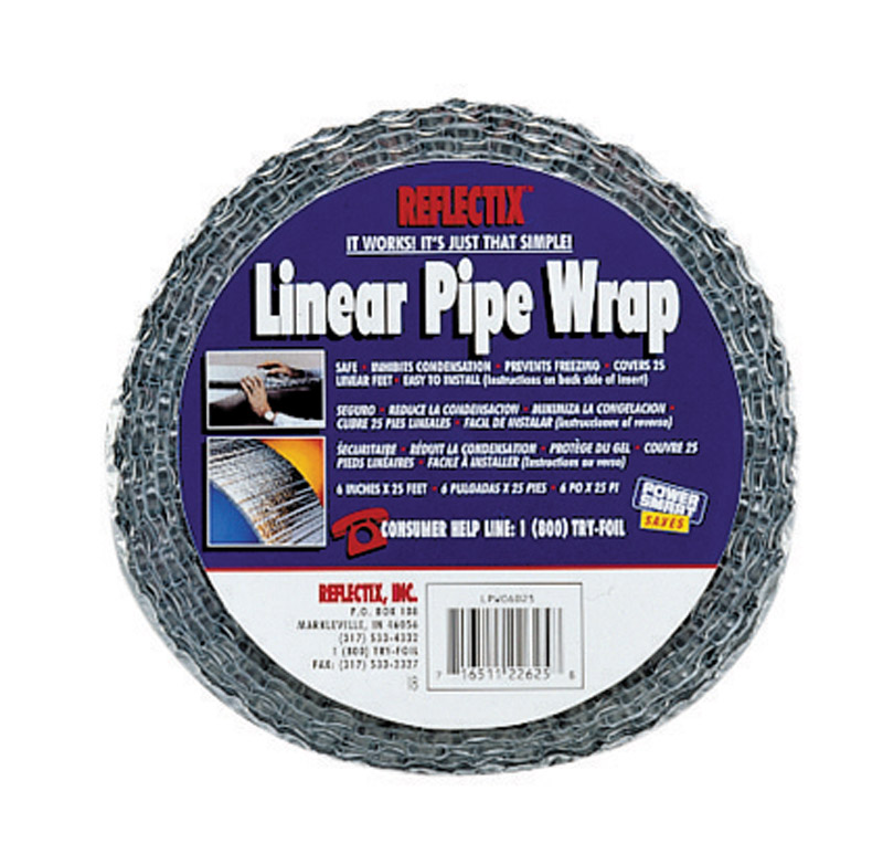 Reflectix  24.5 in. Linear Pipe Wrap  25 ft. L