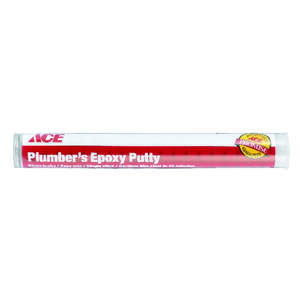 Ace  Gray  Plumbers Putty  4 oz.