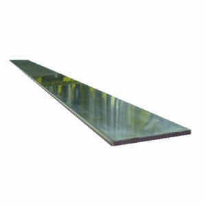 Boltmaster  0.125 in.  x 1 in. W x 3 ft. L Weldable Aluminum Flat Bar  1 pk