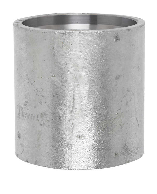 Campbell  Galvanized Steel  Drive Coupling  2 in.  x 4 in. L