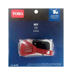 Toro  Snow Thrower Key