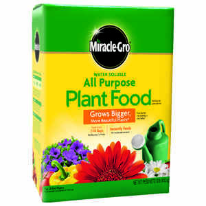 Miracle-Gro  All Purpose  Granules  Plant Food  10 lb.