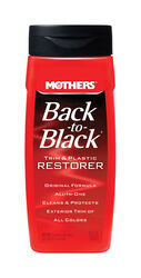 Mothers  Back-To-Black  Plastic  Trim and Plastic Restorer  Liquid  12 oz.