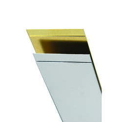 K&S 0.028 in. x 1 in. W x 12 in. L Stainless Steel Strip