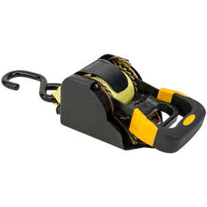 Keeper  1-7/8 in. W x 10 ft. L Yellow  Tie Down Strap  1000 lb. 1 pk