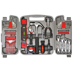 Apollo  Tool Kit  Black  53 pc.