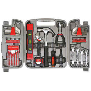 Apollo  53 pc. Tool Kit  Black