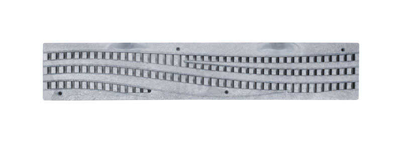 NDS  Spee-D  N/A in. 24 in. L Polyolefin  Rectangle  Channel Grate