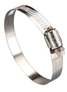 Ideal  1-5/16 in. 2-1/4 in. Stainless Steel  Hose Clamp