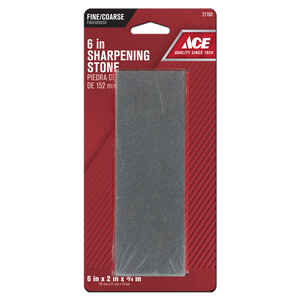 Ace  6 in. L Sharpening Stone  Silicon Carbide  60/80 Grit 1 pc.