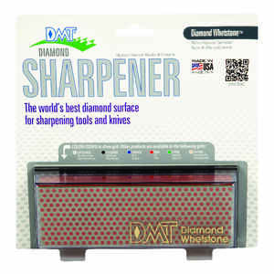 DMT  Diamond Whetstone  6 in. L Diamond/Nickel  Diamond Whetstone Sharpener  600 Grit 1 pc.