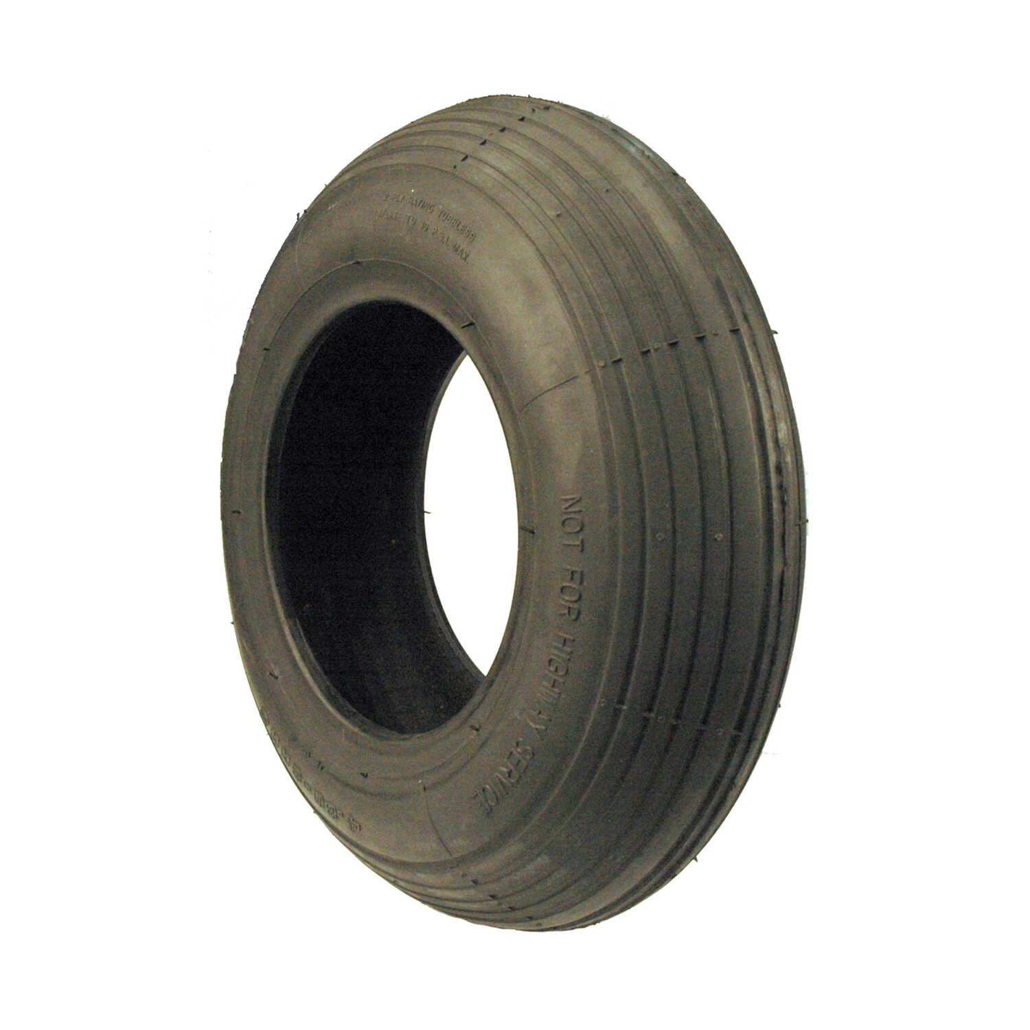 MaxPower  13 in. Dia. 300 lb. Wheelbarrow Tire  Rubber  1 pk