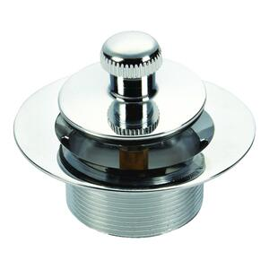 Ace  1-1/4 in. Chrome  Zinc  Sink Strainer
