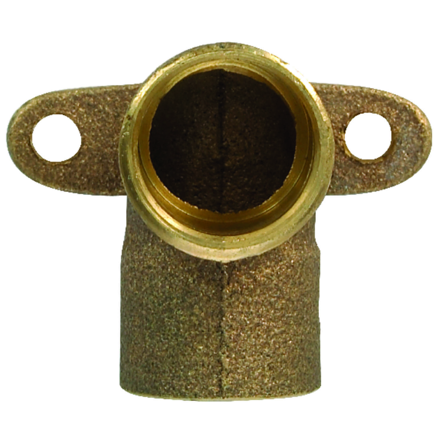 Elkhart  1/2 in. Sweat   x 1/2 in. Dia. FIP  Brass  Drop Ear Elbow