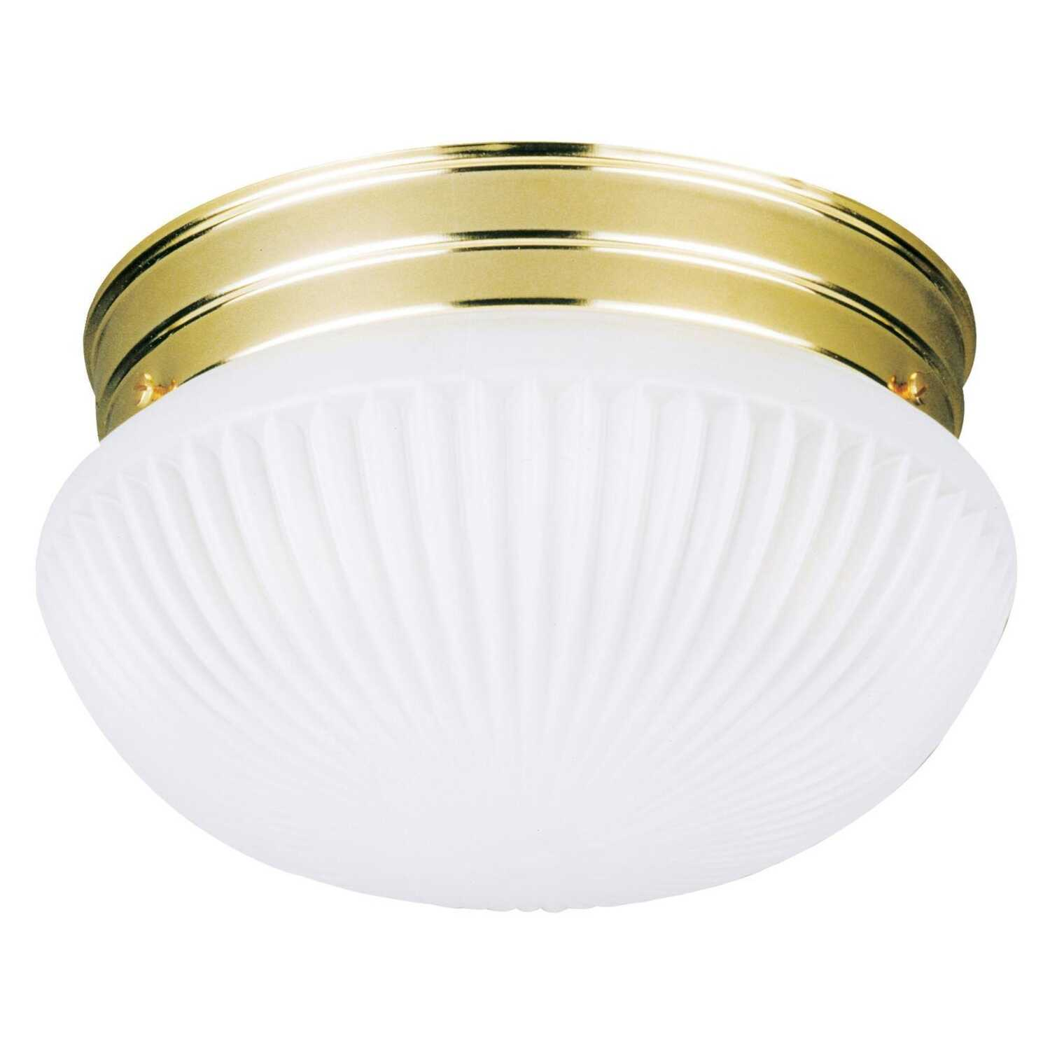 Westinghouse  4-3/4 in. H x 7-1/2 in. W x 8 in. L Ceiling Light