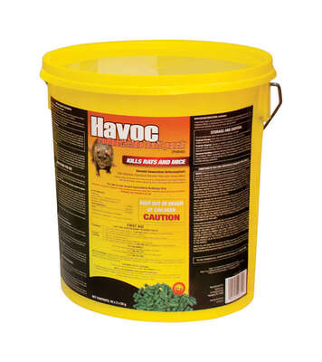 Havoc Bait Pellets For Mice and Rats 40 pk