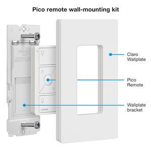 Lutron Pico Push Button Switch Amp Receptacle White 1 Pk