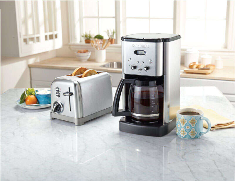 Cuisinart  Brew Central  12 cups Coffee Maker  Black/Silver
