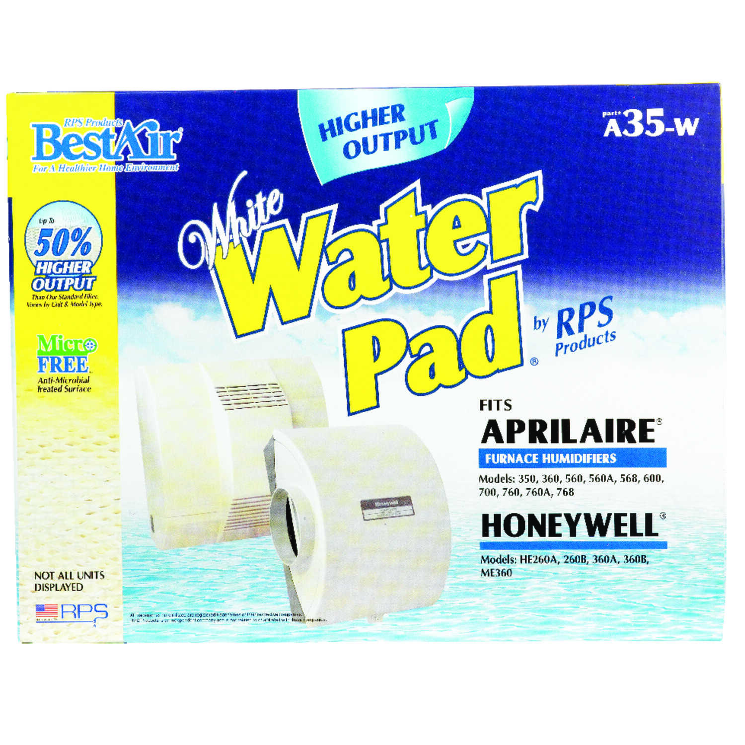 BestAir  A35-W  Replacement Water Pad  For Specific Aprilaire and Honeywell Humidifiers
