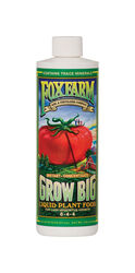 FoxFarm  Grow Big  Liquid Plant Food Concentrate  1 pt.