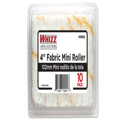 Whizz  Fabric  1/2 in.  x 4 in. W Mini  Paint Roller Cover  10 pk