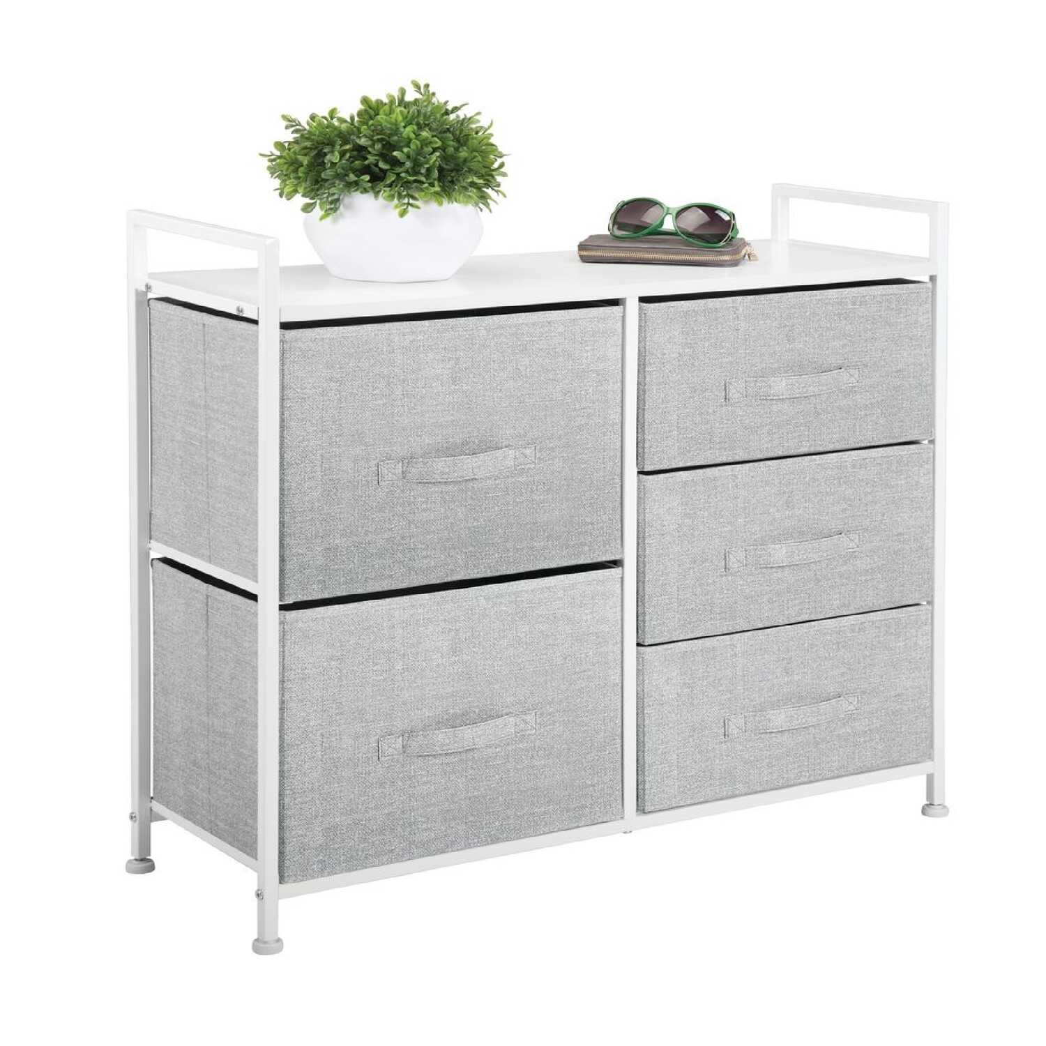 InterDesign  Aldo  21.75 in. H x 11.4 in. W x 32.6 in. D Storage Unit