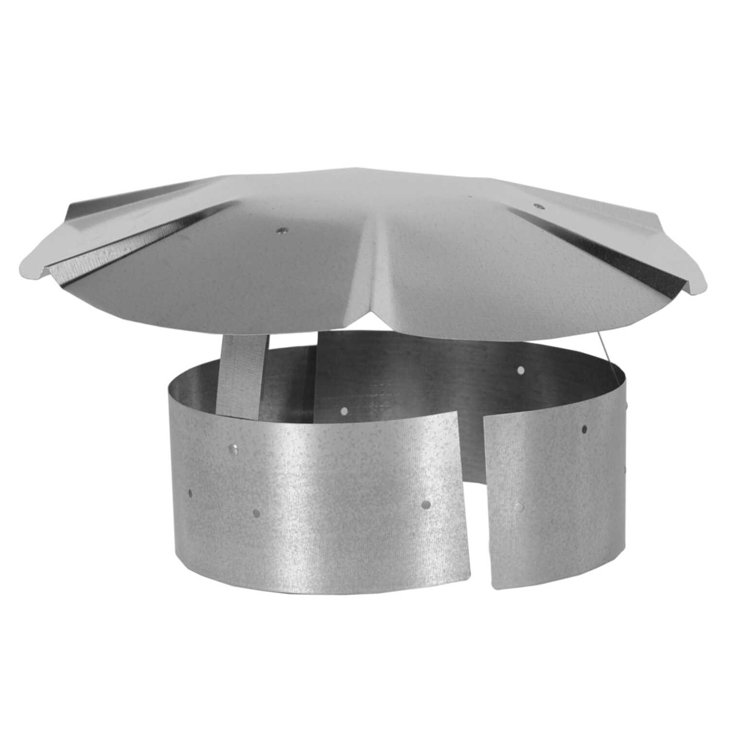 Imperial Manufacturing  Galvanized  Steel  Chimney Rain Cap  3-4 in.