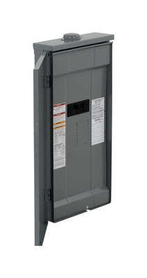 Square D  HomeLine  200 amps 120/240 volt 8 space 16 circuits Wall Mount  Main Breaker Load Center