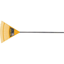 True Temper 55.75 in. L x 18 in. W Poly Kids Rake Wood Handle