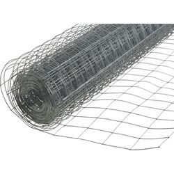 American Posts  48 in. H 50 ft. Steel  Welded Wire Fence