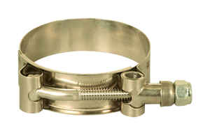 Apache  2.3 in. Dia. Stainless Steel  T-Bolt Clamp